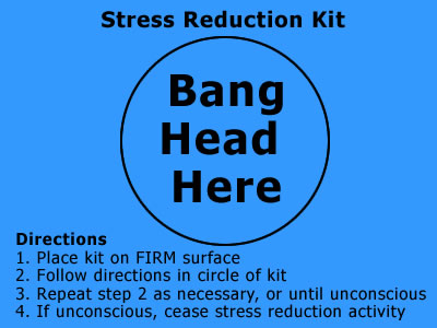 Stress reduction technique