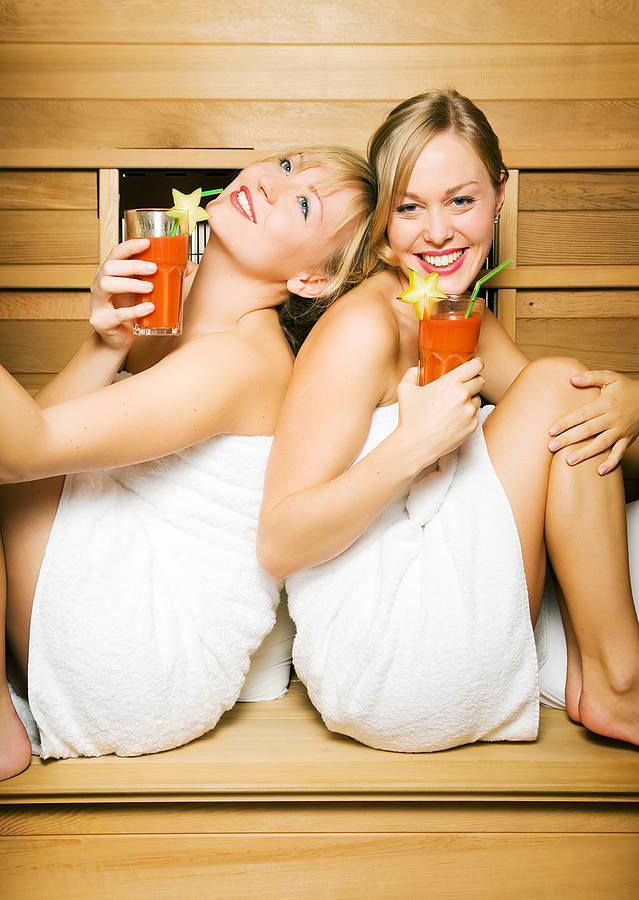 niacin and sauna detox